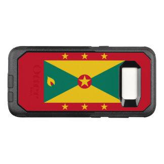 Funda Commuter De OtterBox Para Samsung Galaxy S8 Bandera del caso de Grenada Samsung OtterBox