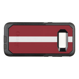 Funda Commuter De OtterBox Para Samsung Galaxy S8 Bandera del caso de Letonia Samsung OtterBox