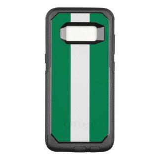 Funda Commuter De OtterBox Para Samsung Galaxy S8 Bandera del caso de Nigeria Samsung OtterBox