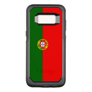Funda Commuter De OtterBox Para Samsung Galaxy S8 Bandera del caso de Portugal Samsung OtterBox