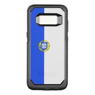 Funda Commuter De OtterBox Para Samsung Galaxy S8 Bandera del caso de Portugalicia Samsung OtterBox