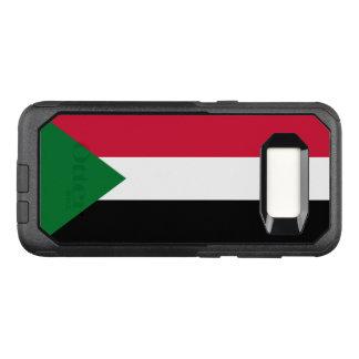 Funda Commuter De OtterBox Para Samsung Galaxy S8 Bandera del caso de Sudán Samsung OtterBox