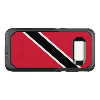 Funda Commuter De OtterBox Para Samsung Galaxy S8 Bandera del caso de Trinidad and Tobago Samsung