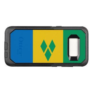 Funda Commuter De OtterBox Para Samsung Galaxy S8 Bandera del caso de Vincent de santo Samsung