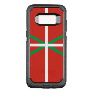 Funda Commuter De OtterBox Para Samsung Galaxy S8 Bandera del caso vasco de Samsung OtterBox del