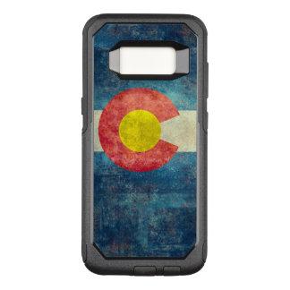 Funda Commuter De OtterBox Para Samsung Galaxy S8 Bandera del estado de Colorado con mirada sucia