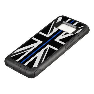 Funda Commuter De OtterBox Para Samsung Galaxy S8 Bandera fina de Blue Line Reino Unido