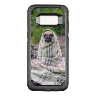 Funda Commuter De OtterBox Para Samsung Galaxy S8 Barro amasado en una manta