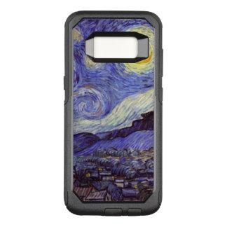 Funda Commuter De OtterBox Para Samsung Galaxy S8 Bella arte del vintage de la noche estrellada de