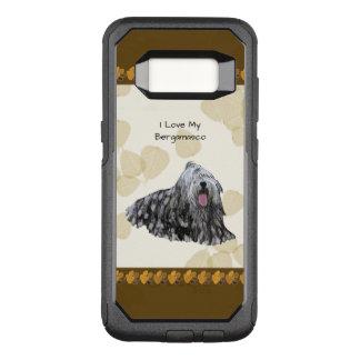 Funda Commuter De OtterBox Para Samsung Galaxy S8 Bergamasco en las hojas del moreno