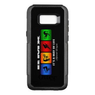 Funda Commuter De OtterBox Para Samsung Galaxy S8+ BMX fresco es una manera de vida