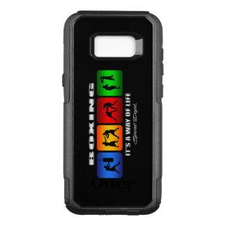 Funda Commuter De OtterBox Para Samsung Galaxy S8+ Boxeo fresco es una manera de vida