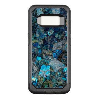 Funda Commuter De OtterBox Para Samsung Galaxy S8 Caja abstracta artsy de la galaxia S8 de las gemas
