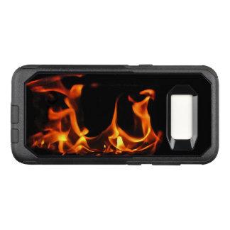 Funda Commuter De OtterBox Para Samsung Galaxy S8 Caja anaranjada de la galaxia S8 de OtterBox del