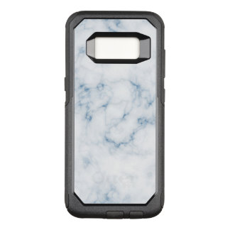 Funda Commuter De OtterBox Para Samsung Galaxy S8 Caja azul de mármol de la nutria del blanco w de