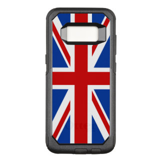 Funda Commuter De OtterBox Para Samsung Galaxy S8 Caja de la galaxia S8 de Union Jack Samsung