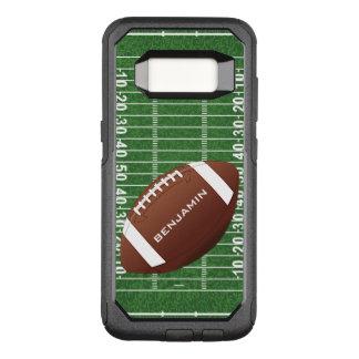 Funda Commuter De OtterBox Para Samsung Galaxy S8 Caja de la nutria del diseño del fútbol