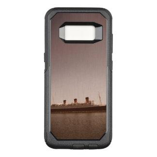 Funda Commuter De OtterBox Para Samsung Galaxy S8 Caja envejecida sepia rústica de la nutria de