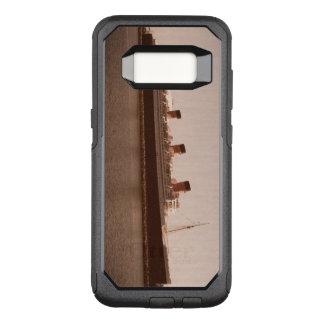 Funda Commuter De OtterBox Para Samsung Galaxy S8 Caja envejecida sepia rústica Ott de la nutria de
