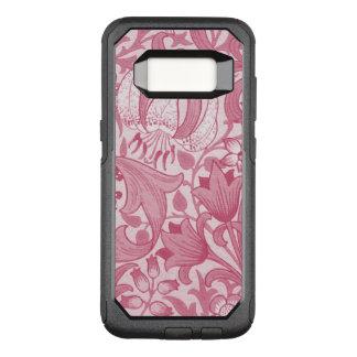 Funda Commuter De OtterBox Para Samsung Galaxy S8 Caja floral rosada de la galaxia S8 Otterbox de