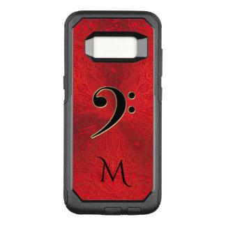 Funda Commuter De OtterBox Para Samsung Galaxy S8 Caja roja de la galaxia de Otterbox de la mandala