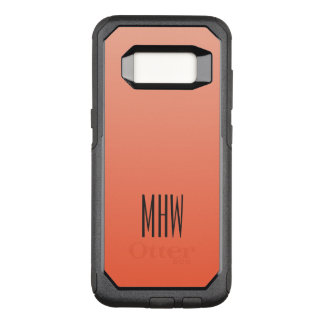 Funda Commuter De OtterBox Para Samsung Galaxy S8 Cajas de encargo del teléfono del monograma de la