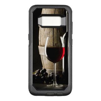 Funda Commuter De OtterBox Para Samsung Galaxy S8 Cajas del teléfono del amante del vino