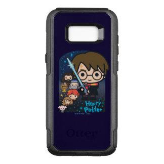 Funda Commuter De OtterBox Para Samsung Galaxy S8+ Cámara de Harry Potter del dibujo animado de