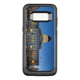 Funda Commuter De OtterBox Para Samsung Galaxy S8 Capitolio del estado de Utah en fuente reflectora