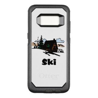 Funda Commuter De OtterBox Para Samsung Galaxy S8 Casa de campo de relajación del esquí