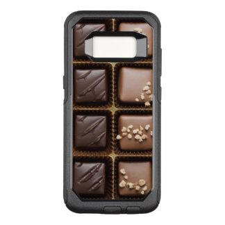 Funda Commuter De OtterBox Para Samsung Galaxy S8 Chocolate de lujo hecho a mano en una caja
