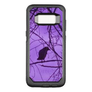 Funda Commuter De OtterBox Para Samsung Galaxy S8 Cielo solitario misterioso negro de la púrpura de
