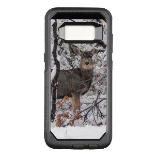 Funda Commuter De OtterBox Para Samsung Galaxy S8 Ciervos de la nieve - frente de Wasatch - Utah