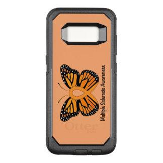 Funda Commuter De OtterBox Para Samsung Galaxy S8 Cinta de la conciencia de la mariposa de la