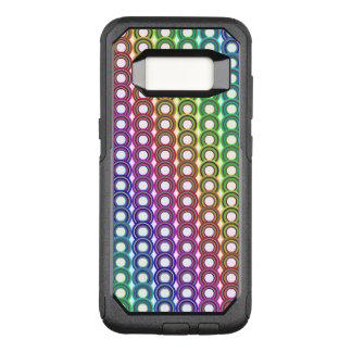 Funda Commuter De OtterBox Para Samsung Galaxy S8 Círculos retros coloridos