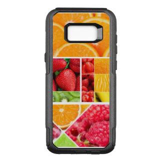 Funda Commuter De OtterBox Para Samsung Galaxy S8+ Collage de la fruta de la mezcla