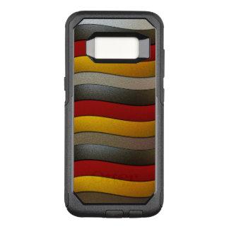 Funda Commuter De OtterBox Para Samsung Galaxy S8 Color-Cromo de la bandera de Alemania de Shirley