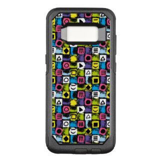 Funda Commuter De OtterBox Para Samsung Galaxy S8 Colorido divertido de nuevo al modelo de los años