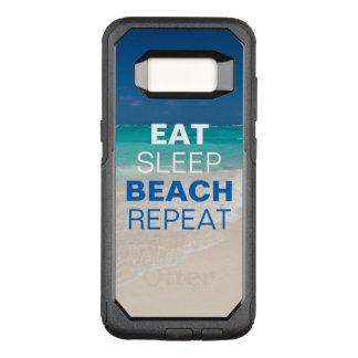 Funda Commuter De OtterBox Para Samsung Galaxy S8 Coma la repetición de la playa del sueño