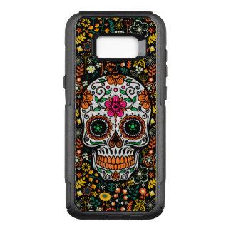 Funda Commuter De OtterBox Para Samsung Galaxy S8+ Cráneo retro colorido fresco del azúcar de las