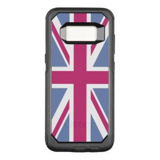 Funda Commuter De OtterBox Para Samsung Galaxy S8 Cree su propio Union Jack magenta