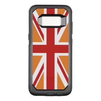 Funda Commuter De OtterBox Para Samsung Galaxy S8 Cree su propio Union Jack rojo