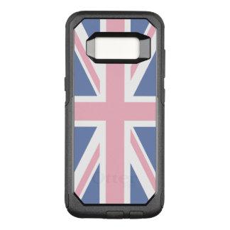 Funda Commuter De OtterBox Para Samsung Galaxy S8 Cree su propio Union Jack rosa claro