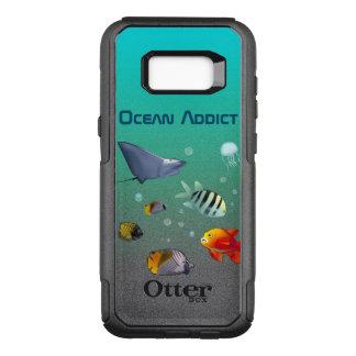 Funda Commuter De OtterBox Para Samsung Galaxy S8+ Criaturas marinas coloridas