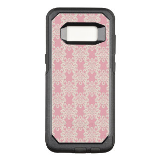 Funda Commuter De OtterBox Para Samsung Galaxy S8 Damasco retro floral