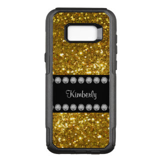 Funda Commuter De OtterBox Para Samsung Galaxy S8+ Descenso glamoroso del nombre del brillo de los