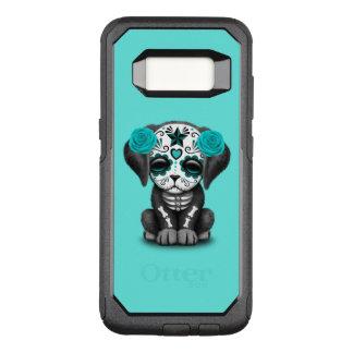 Funda Commuter De OtterBox Para Samsung Galaxy S8 Día azul del perro de perrito muerto