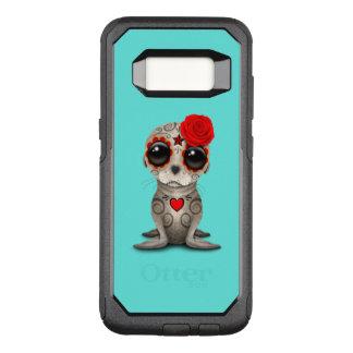 Funda Commuter De OtterBox Para Samsung Galaxy S8 Día rojo del león marino muerto del bebé