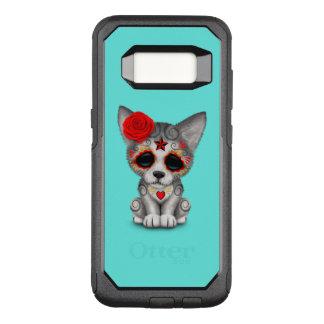 Funda Commuter De OtterBox Para Samsung Galaxy S8 Día rojo del lobo Cub muerto
