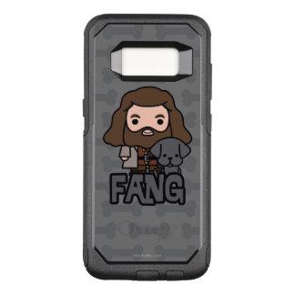 Funda Commuter De OtterBox Para Samsung Galaxy S8 Dibujo animado Hagrid y arte del carácter del